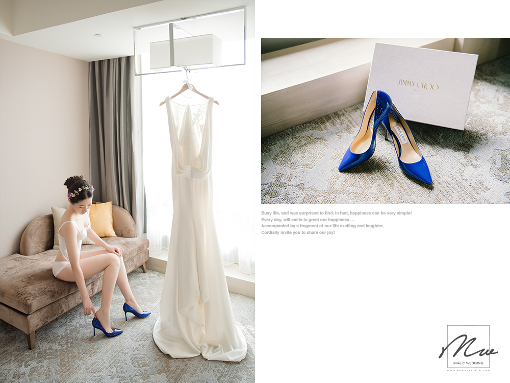婚鞋 Wedding shoes: Jimmy Choo