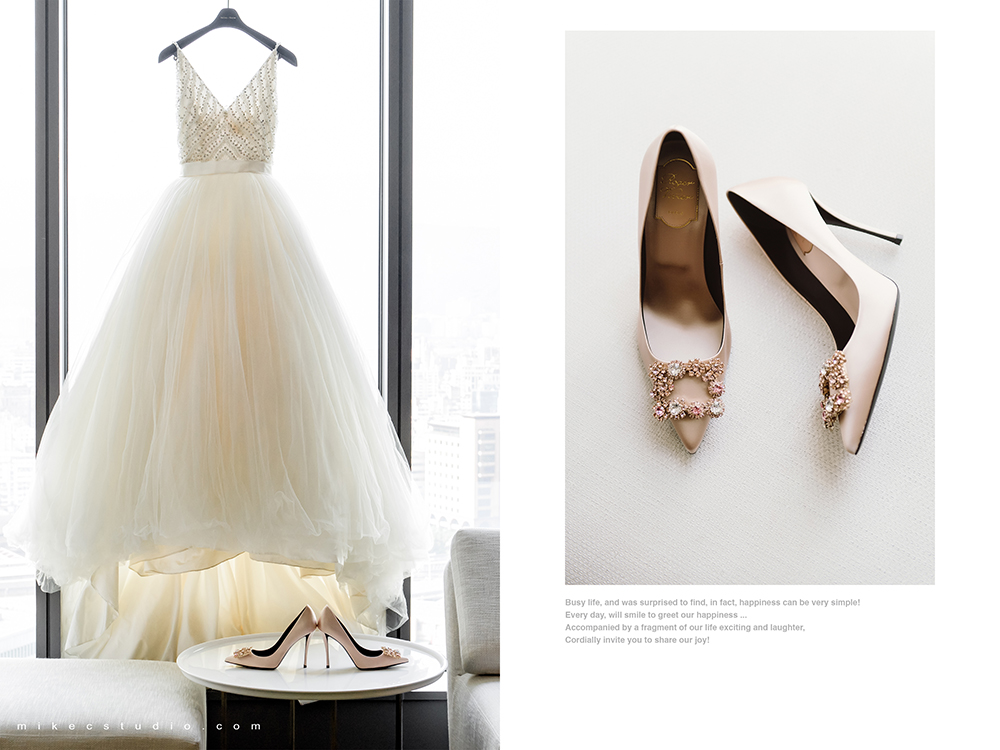 婚鞋 Wedding shoes: Roger Vivier