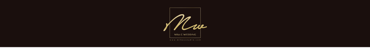 婚攝米克 Mike.C Wedding/自助婚紗/婚禮紀錄/婚紗婚攝推薦/美國獲獎團隊 logo
